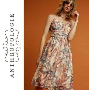 NWT Anthropologie Floral Lace Dress